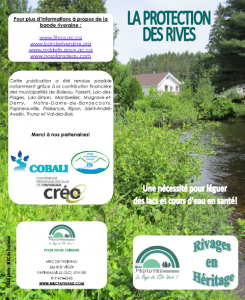 "Guide ""La protection des rives"""